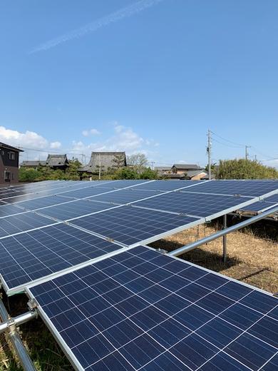 海部郡飛島村に太陽光発電!!
